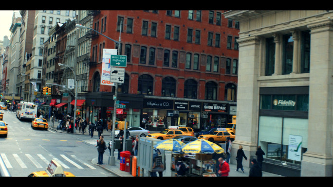 Intersection on New York City 5th Avenue