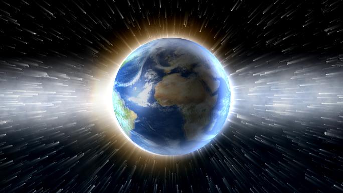 Spinning Globe Light