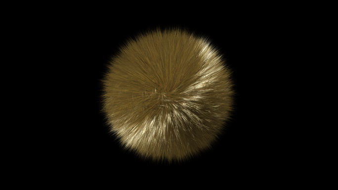Spinning Furry Ball